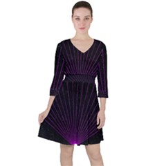 Laser Show Festival Ruffle Dress