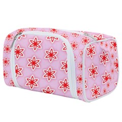 Pattern Texture Toiletries Pouch