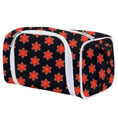 Flower Pattern Pattern Texture Toiletries Pouch