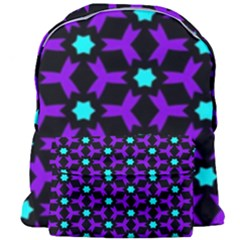 Textured Background Tile Pattern Giant Full Print Backpack