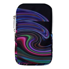 Art Abstract Colorful Abstract Art Waist Pouch (large)