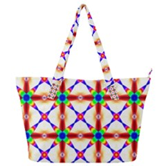 Rainbow Pattern Pattern Texture Full Print Shoulder Bag