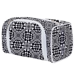 Fabric Design Pattern Color Toiletries Pouch