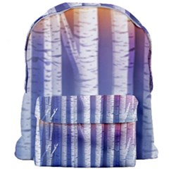 Birch Tree Background Scrapbooking Giant Full Print Backpack