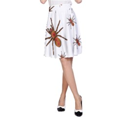 Insect Spider Wildlife A-line Skirt