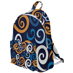 Colorful Curves Pattern The Plain Backpack