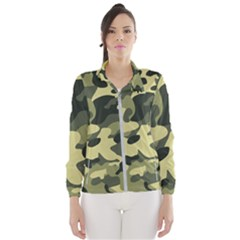 Army Camo Pattern Women s Windbreaker