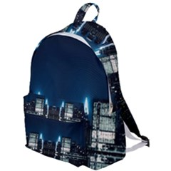 Night City Landscape The Plain Backpack