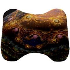 Fractal Cg Computer Graphics Sphere Fractal Art Water Organism Macro Photography Art Space Earth  Head Support Cushion