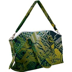 Laptop Computer Technology Leaf Line Green Biology Communication Electronics Illustration Informatio Canvas Crossbody Bag