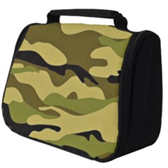 Fabric Army Camo Pattern Full Print Travel Pouch (big)