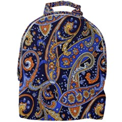 Vintage Retro Texture Decoration Pattern Color Circle Ornament Art Design Bright Symmetry Style  Mini Full Print Backpack by Vaneshart