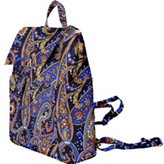Vintage Retro Texture Decoration Pattern Color Circle Ornament Art Design Bright Symmetry Style  Buckle Everyday Backpack by Vaneshart