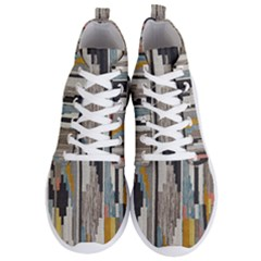 Abstract Pattern Men s Lightweight High Top Sneakers