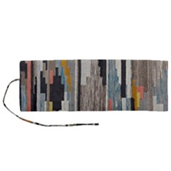 Abstract Pattern Roll Up Canvas Pencil Holder (m) by Vaneshart