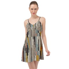 Abstract Pattern Summer Time Chiffon Dress