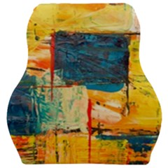Abstract Painting Acrylic Paint Art Artistic Background Car Seat Velour Cushion