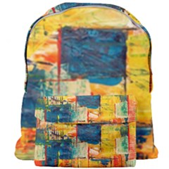 Abstract Painting Acrylic Paint Art Artistic Background Giant Full Print Backpack