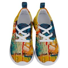 Abstract Painting Acrylic Paint Art Artistic Background Running Shoes by Vaneshart