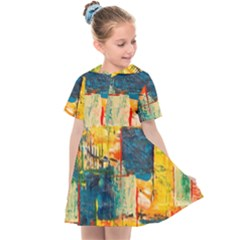 Abstract Painting Acrylic Paint Art Artistic Background Kids  Sailor Dress