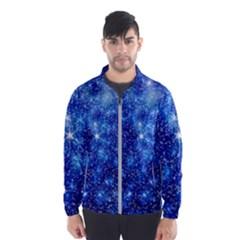 Blurred Star Snow Christmas Spark Men s Windbreaker