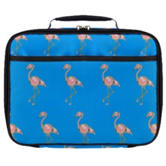 Flamenco Birds Exotic Nice Pink Full Print Lunch Bag by Mariart