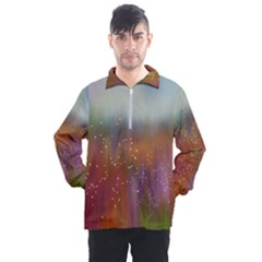 Background Geometry Star Men s Half Zip Pullover