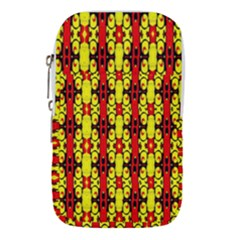 Red Black Yellow 9 Waist Pouch (large)