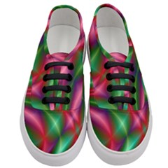 Background Fractal Shining Elegant Women s Classic Low Top Sneakers