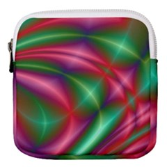 Background Fractal Shining Elegant Mini Square Pouch