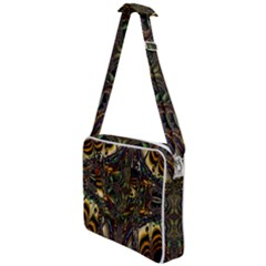 Abstract Art Artwork Fractal Cross Body Office Bag by Wegoenart