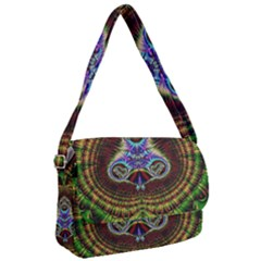 Artwork Fractal Digital Art Courier Bag