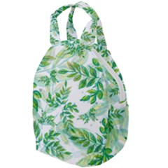 Leaves Green Pattern Nature Plant Travel Backpacks