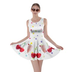 Milkshakes And Cherries Skater Dress