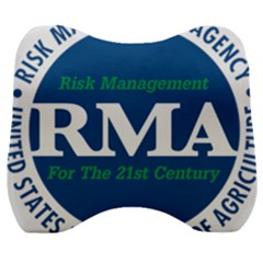 Logo Of Usda Risk Management Agency, 1996-2004 Velour Head Support Cushion by abbeyz71