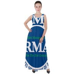 Logo Of Usda Risk Management Agency, 1996 2004 Empire Waist Velour Maxi Dress