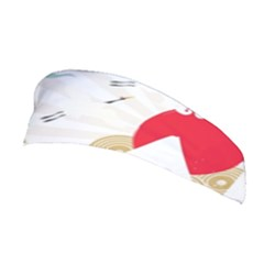 Mountain Sun Japanese Illustration Stretchable Headband