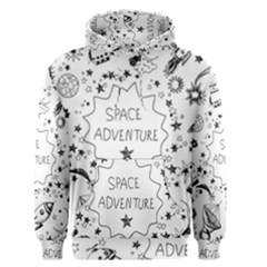 Space Elements Men s Pullover Hoodie