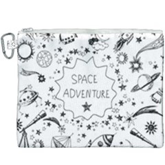 Space Elements Canvas Cosmetic Bag (xxxl)