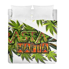 Cannabis Hemp Hashish Illegal Drug Trade Rasta Duvet Cover Double Side (full/ Double Size)