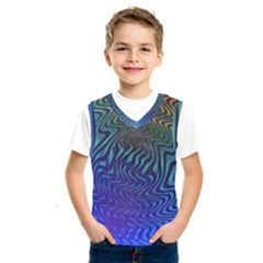 Abstract Circles Lines Colorful Kids  Sportswear