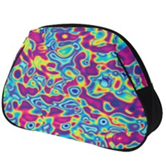 Ripple Motley Colorful Spots Abstract Full Print Accessory Pouch (big)