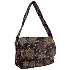 Patterns Abstract Flowers Courier Bag