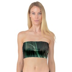 Fireworks Salute Sparks Abstract Lines Bandeau Top
