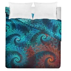Abstract Patterns Spiral Duvet Cover Double Side (queen Size)