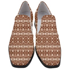 Deveraux Women Slip On Heel Loafers