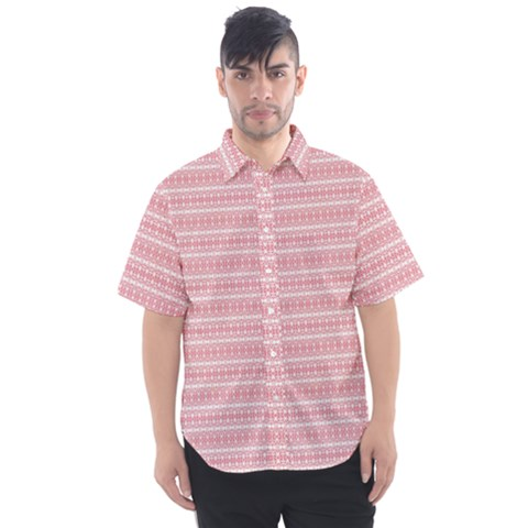 Raspberry Charms Men s Short Sleeve Shirt by plaides