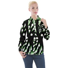 Bacteria Bacterial Species Imitation Women s Long Sleeve Pocket Shirt