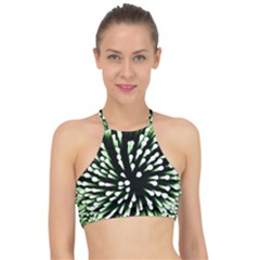 Bacteria Bacterial Species Imitation Racer Front Bikini Top
