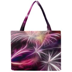 Fireworks Rocket Night Lights Flash Mini Tote Bag